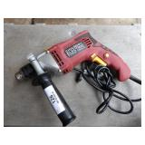 1/2 drive corded drill