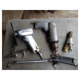 """ingersol rand 5"""" air grinder & CP 1/4"""" air drill"""