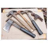 hatchet, hammers & handles