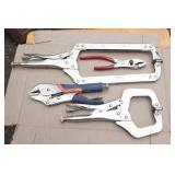 locking pliers - 4pcs