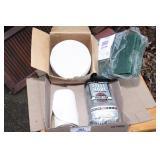 scotchbrite pads, steel wool & sanding discs