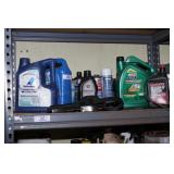 coolant, power steering, oil filter wrenches
