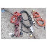 220v adapter & 110v extention cords