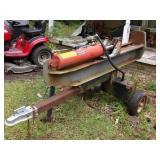 Log splitter - Huskee 35 ton