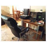 desk, & computer suite