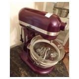 kitchenaid - pro 600 deluxe purple mixer