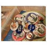 election pins, badges & literatures