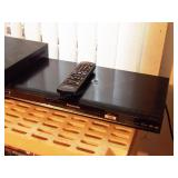 toshiba vhs, panasonic DVD player