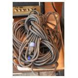 Locking speakon audio cables (cut)