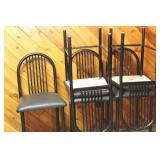 upholstered bar stool chairs