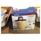 heaters (2), crockpot, ice cream maker