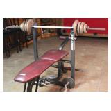 Marcy MX weight bench
