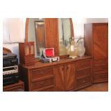 oak betroom suite