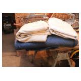 drop cloth & shipping blanket