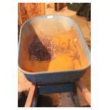Blue Jackson Steel Tub wheelbarrow