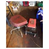 Harbor Freight Rolling shop stool