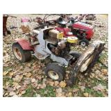 "Riding lawn tractor ""Super 12"" w/ 3 blade deck"