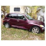 2001 PT Cruiser 4 door automatic w/ sunroof