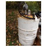 55 gal drum & barrel pump