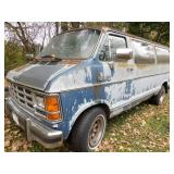 1986 Dodge Ram 250 Royal SE Van