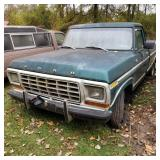 1979 Ford F150 Custom single cab automatic