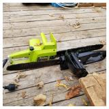 Poulan & Remmington electric chainsaws