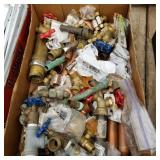 Plumbing, valves, junctions etc