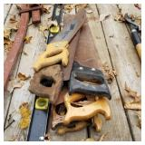 Hand Saws &Level (7pcs)