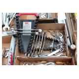 Stubby wrench set & assorted wrenches