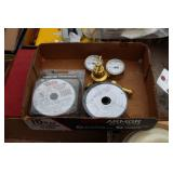 gas regulators & welding wire