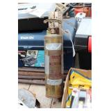 Brass quick-aid antique fire extringuisher