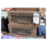 Powell river trading crates (2pcs)