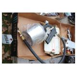 Pneumatic spray guns (2pcs)