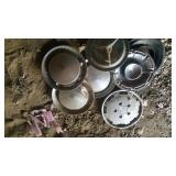 oldmobile hubcaps - 4pcs