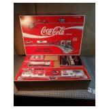 Coca-Cola TTAX Tractor Trailer Train set - NIB