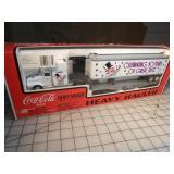 K-Line - Diet Coke  Flat car & Semi truck