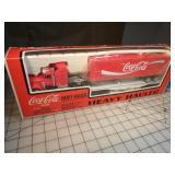 K-Line Coca-Cola Tractor trailer flatcar set
