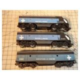 Lionel - 2364 Engines Boston & Maine A-B-A