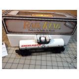 Rail King Engelhard Tank Car