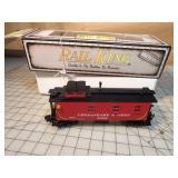 Rail King Chesapeake & Ohio Die cast Caboose