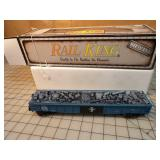 Rail King - Bonston & Maine Die cast Gondola