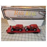 Rail King - Milwalkee Road Flat car