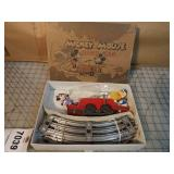 Pride Lines Mickey Mouse Hand Car Set w/ Box