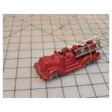 Hubley cast toy fire truck