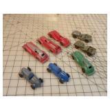Tootsie Toys, Manoil,  8pcs
