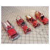 Fire trucks (4pcs)