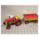 Zetor Traktor & wagon
