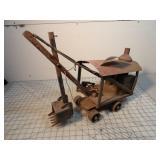 Steam shovel w/ wheels