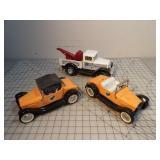 Nylint cars & tow truck (3pcs)