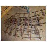 8pc Doepke 7-1/2 gauge Curved Track